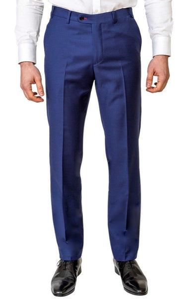 Royal Blue Trousers - MARK STEPHEN