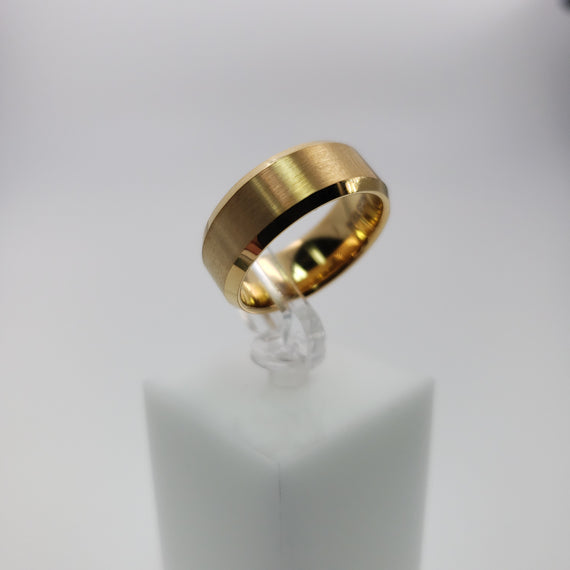 Gold Color Tungsten Ring