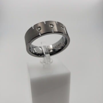 TUNGSTEN RING - F100094