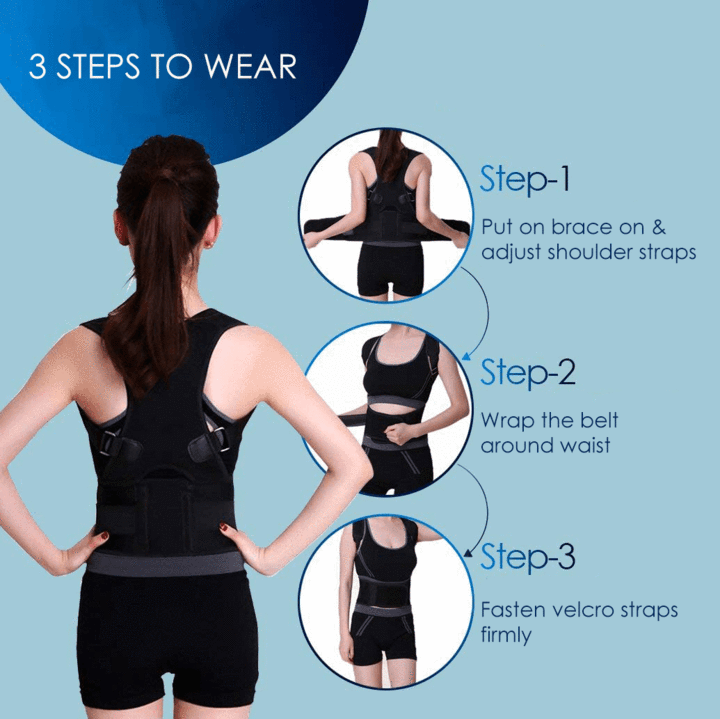 Therapy Posture Corrective Back Brace--Big Sale On