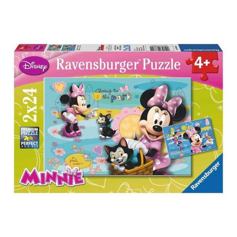 Ravensburger Puzzle 2x24 Minnie-1