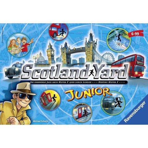 Ravensburger - Scotland yard junior társasjáték-1