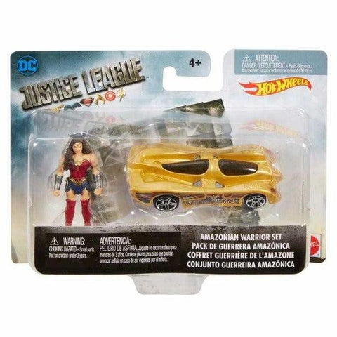 Justice League Wonder Women Hot Wheels kisautóval-1