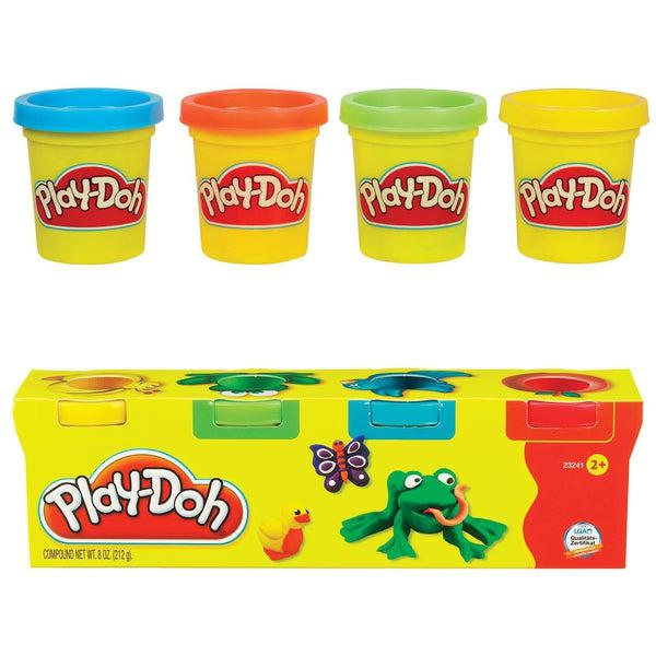 Play Doh gyurma, 4 db-os mini csomag-1