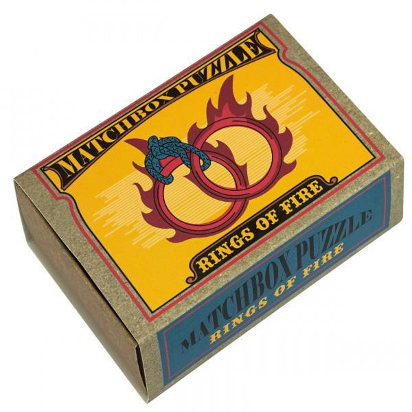 Rings of Fire Matchbox Professor Puzzle ördöglakat-1