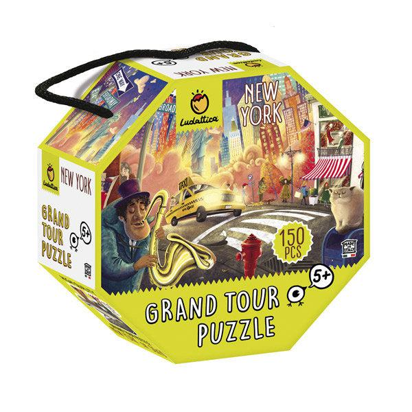 Grand Tour puzzle - New York, 150 db-os - Ludattica-1