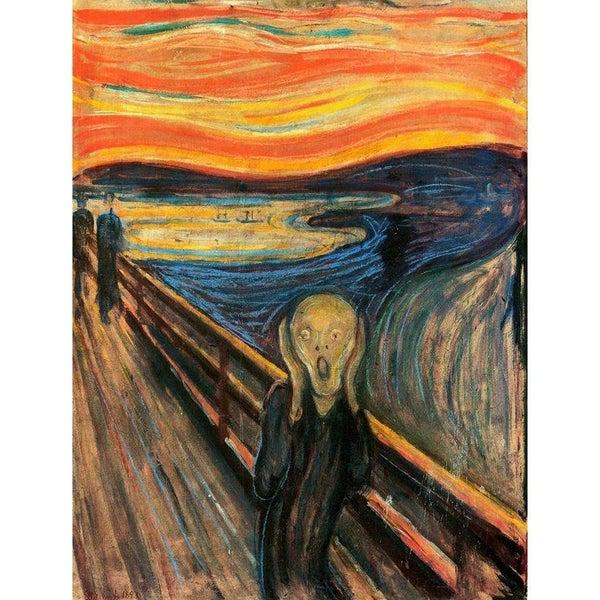 Munch - A sikoly 1000 db-os puzzle - Clementoni Museum Collection-1