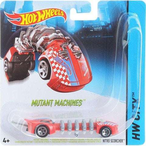 Hot Wheels Mutáns járgányok 1:64-1