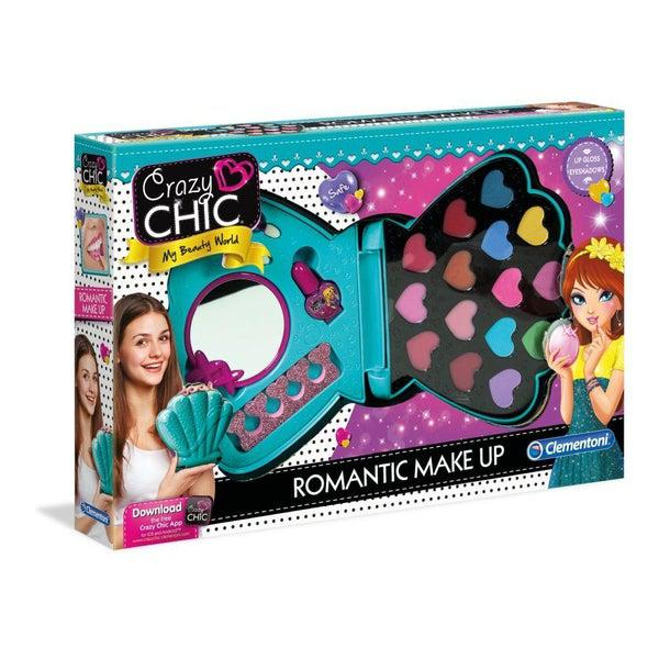 Romantic make-up sminkszett - Crazy Chic - Clementoni-1
