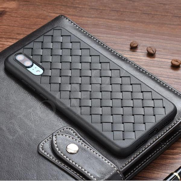 Grid Weave Breathable Heat Disspation Phone Case for Huawei P20 / P20 Pro / Mate 10 / 10 Pro