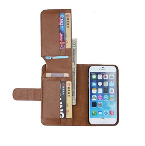 save off 8b865 c7bf7 Folding Luxury PU Leather Wallet Case for iPhone 7 / 8 / 7 Plus / 8 Plus