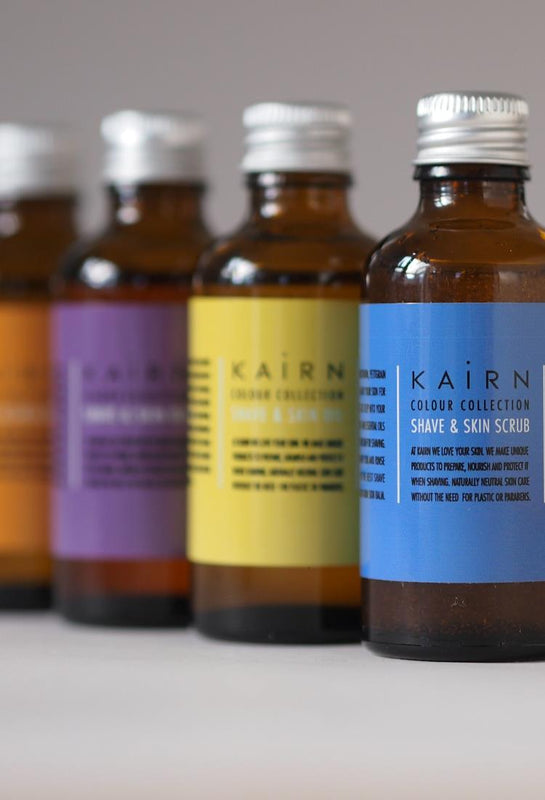 Unisex skin and shaving range from Kairn