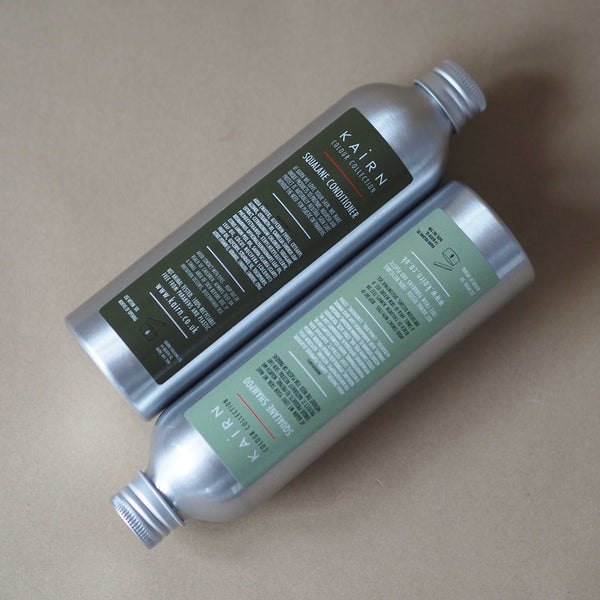Squalane shampoo and conditioner