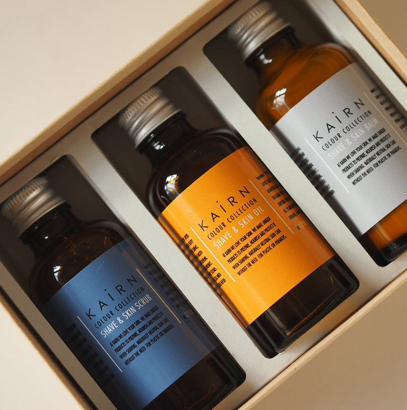 Introductory selection from Kairn Skincare