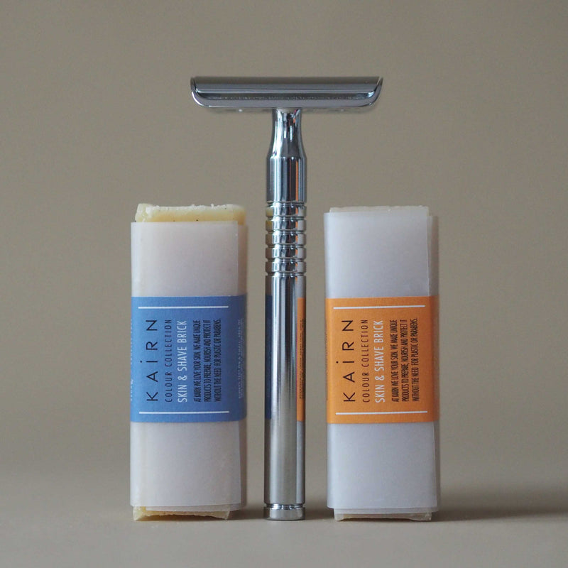 Zero waste shaving set