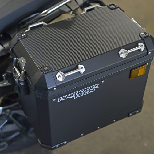 "Pannier & top box protectors ""CARBON""  LC Models GS/GSA"