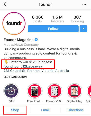 Foundr Call-To-Action Placement