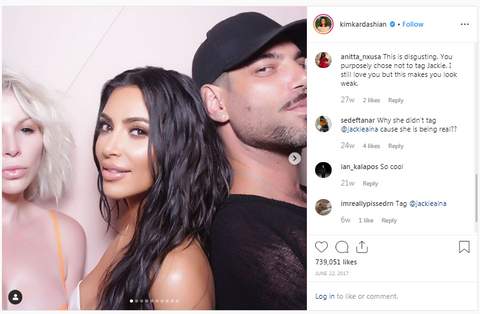 Kim Kardashian Instagram Post
