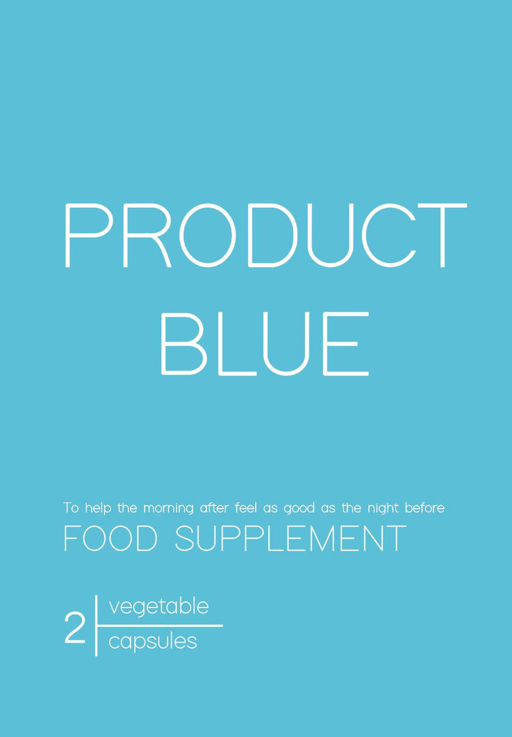 Product Blue - 1 Pack (2 Capsules)