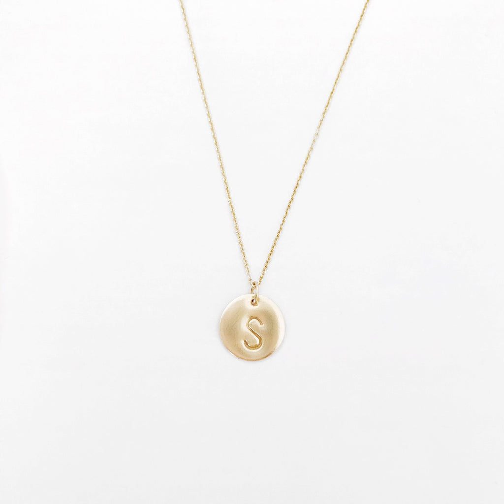 Personalized Coin Necklace