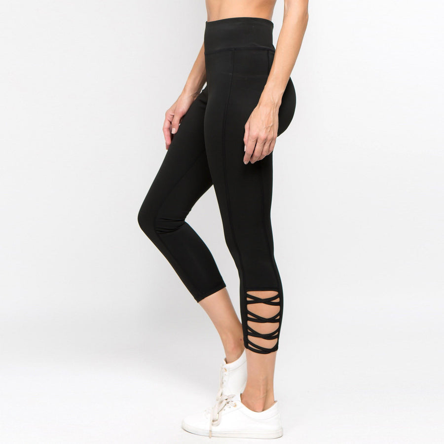 Crisscross Ankle Leggings