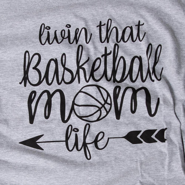 Basketball Mom Life Tee