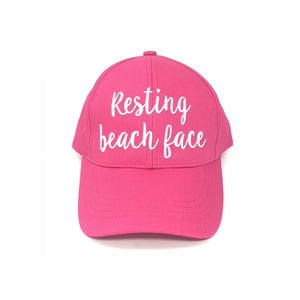 CC Resting Beach Face Hat