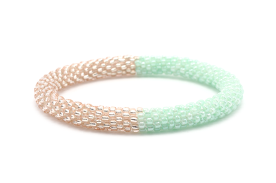 Sashka Rose Gold & Mint Bracelet