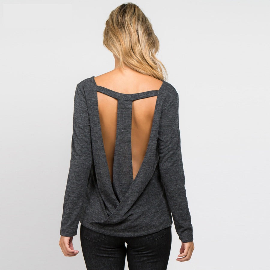 Surplice Back Top
