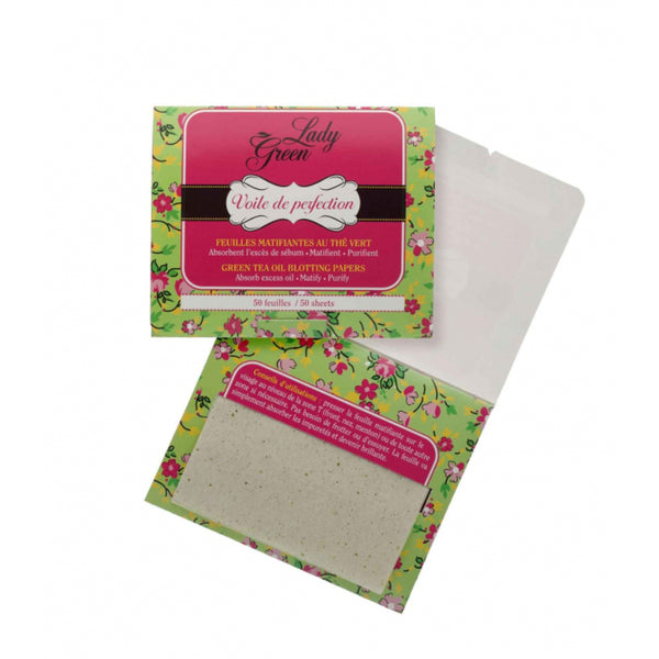 Green Tea Oil Blotting Papers