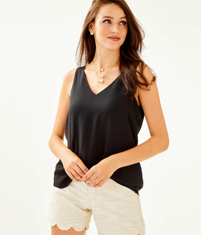 Florin Reversible Sleeveless V-Neck