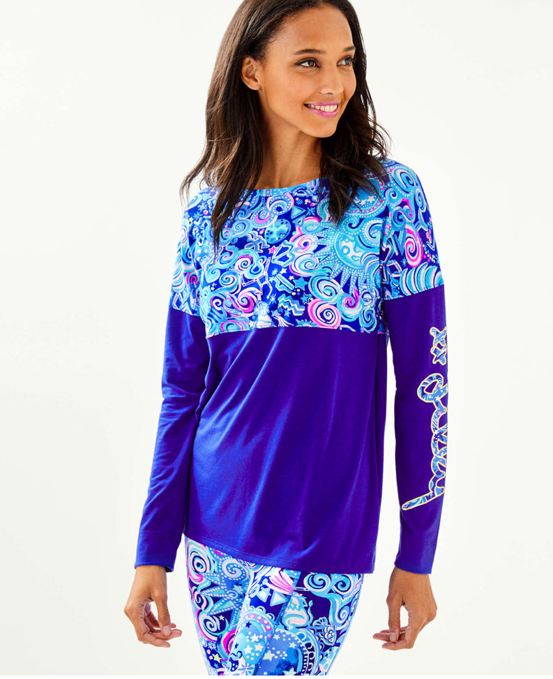 Lilly Pulitzer Finn Cosmic Top
