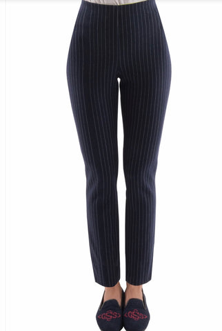 Gretchen Scott Pull On Pin Stripe Pant