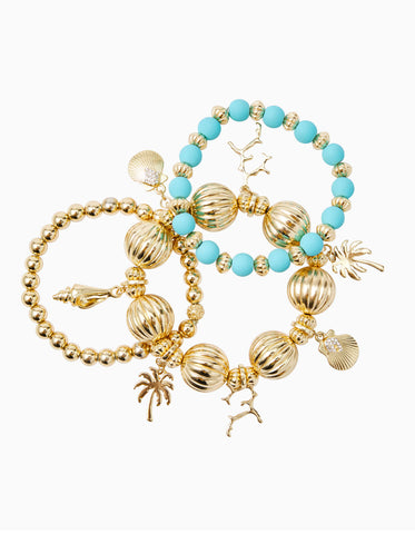 Shell Seeker Stretch Bracelet