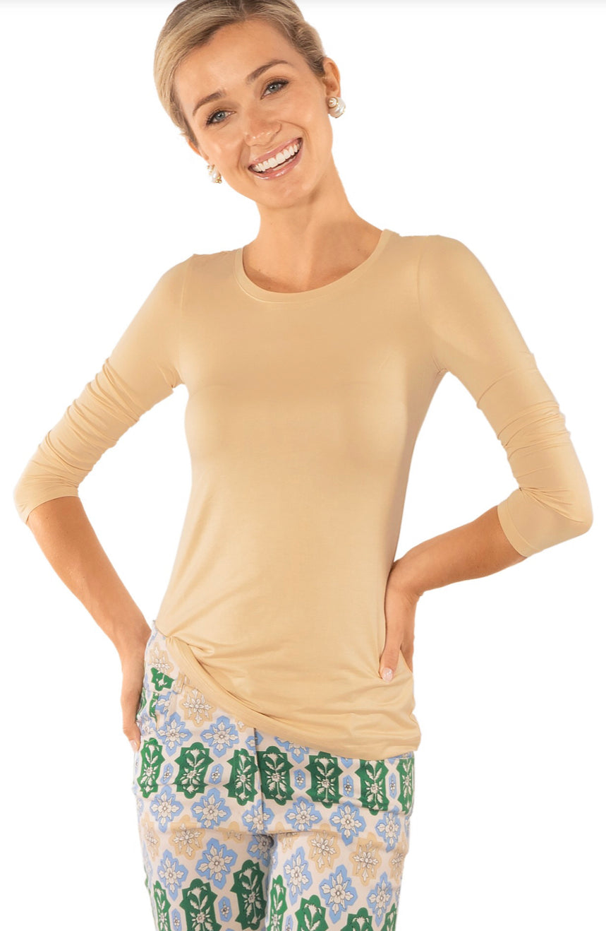 Gretchen Scott Long Sleeve Beyond Soft Tee