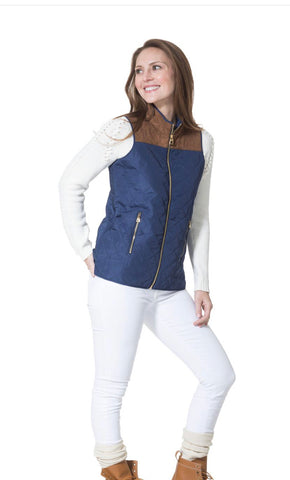 Sail to Sable Quilted Vest