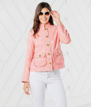 Button Up Short Jacket