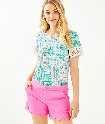 Lilly Pulitzer Buttercup Stretch Short