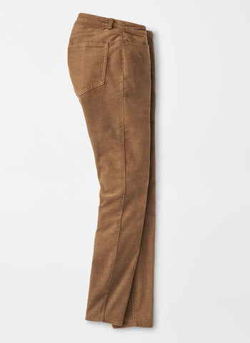 The Karlie Fine-Wale Plush Corduroy Pant