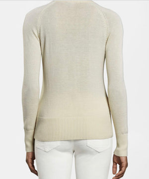 Crown Cashmere Light Full Zip Cardigan