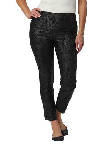 Krazy Larry Black Animal Pull on Pant