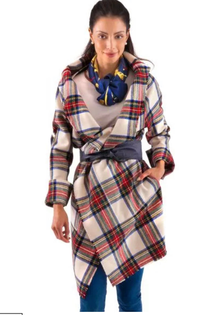 Gretchen Scott Modern Car Coat Duke of York