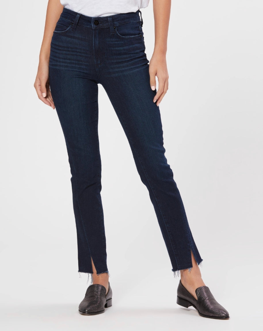 Paige Denim Hoxton Slim High Rise Slim Leg