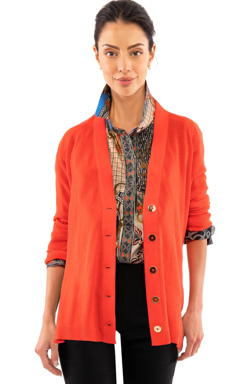 Gretchen Scott Grosgrain Heaven Cardigan