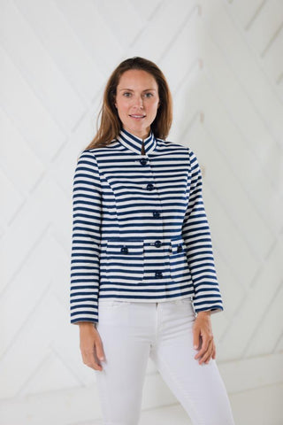 BUTTON FRONT SHORT JACKET