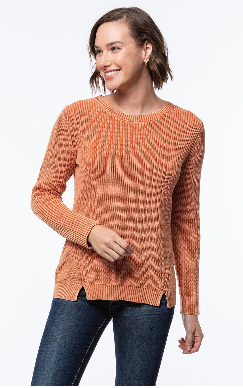 Tyler Boe Button Back Mineral Wash Sweater
