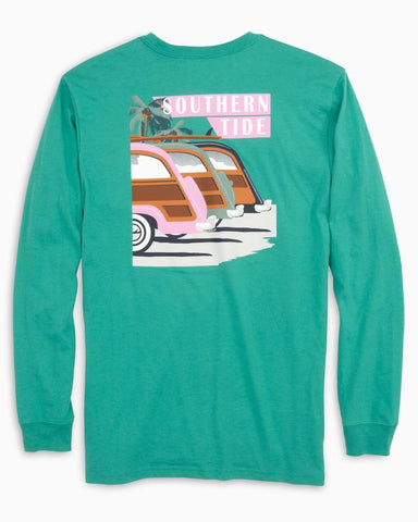 LONG SLEEVE SOUTHERN SUNSET DRIVE T-SHIRT