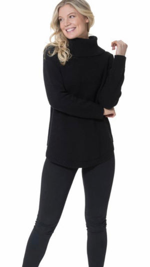 Sail to Sable Long Sleeve Turtleneck Sweater