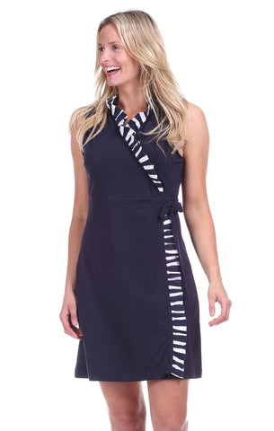 COLDWATER WRAP DRESS