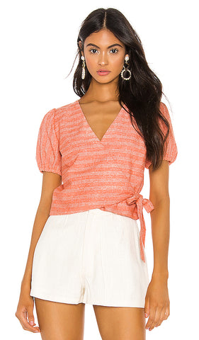 LT2504B Zoe Wrapped Top